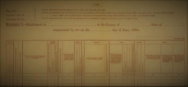 1880 census record