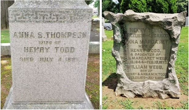 THOMPSON Anna and Henry Todd new PSed